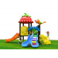 China Attractive Roto - Molded Kids Outdoor Plastic Slide For 2 - 6 Years Old wholesale