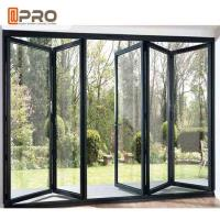 China Energy Saving Aluminum Folding Doors High Temperature Resistant Color Optional wholesale