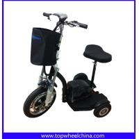 China 3 wheels electric tricycle 500W motor for tourism rent with seat and front light wholesale