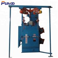 China Electric Fuel Double Hook Type Shot Blasting Machine With Compact Structure wholesale