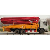 China DZ Special Purpose Trucks 24m Concrete Boom Pump Truck With WD615.95 Engine wholesale