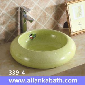 China 2016 new model fashion colorful sanitary ware ceramic art basin for bathroom sink wholesale