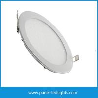 China Round Panel Led Lights Led Circular Panel Lights For Meeting Room 6W / 8W / 12W wholesale
