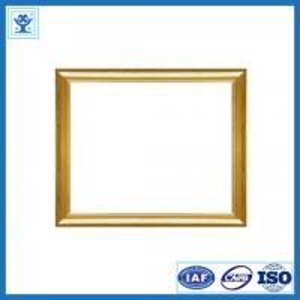 China Beautiful designed golden anodized aluminium frame for photo frame on sale
