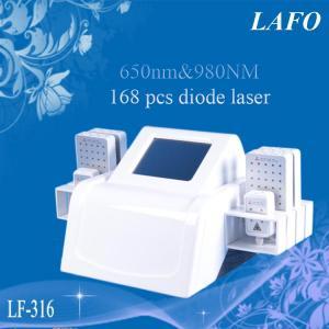 China 650&980nm Dual Wavelength Diode Lipolaser Machine wholesale