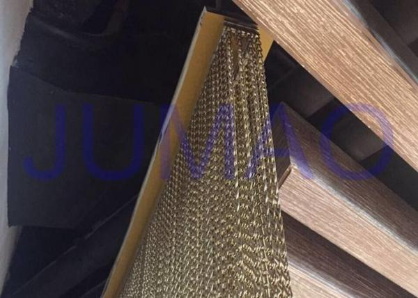 Quality Anodized Aluminum Metal Chain Link Curtains Fly screen In Salon / Bar / Cafe for sale