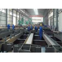 China 8m 10m Length I Beam Steel 90 - 120MM Leg Height For Bridge Engineering wholesale