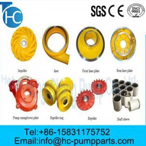 China OEM Customized OEM Parts for Slurry Parts wholesale