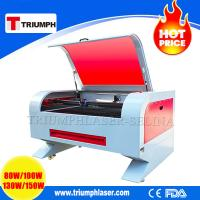 China TRIUMPH 80W 100W 130W 150W Co2 laser engraving cutting machine engraver cutter for Wood Acrylic Non-metals with CE FDA wholesale