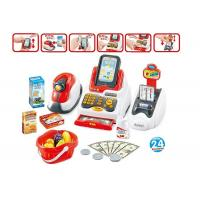 China Pretend Children's Play Toys Cash Register With Scanner And Credit Card Machine wholesale