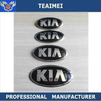 Custom Heat Resistant Chrome KIA Automobile Emblems Logos / Auto Names And Logos