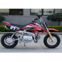 Red Dirt Bike Motorcycle Automatic Transmission 50cc Mini Cool Dirt Bikes