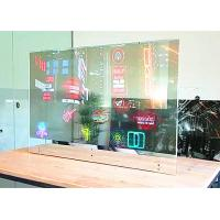 China Ultra Thin OLED Display 128x64 / Waterproof Transparent Window Display wholesale
