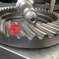 China Ratio 7*41 Rear Axle Helical Hypoid Spiral Bevel Gears on MITSUBISHI Transmission System on sale