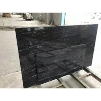 China High Strength Jet Black Solid Granite Worktops For Residental Appartment wholesale