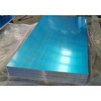 China 3mm 4mm 5mm 3003 Aluminum Sheet With Blue PVC RAL Color Rust Resistance wholesale
