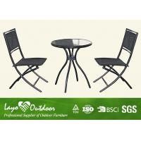 China Bar Height Patio Furniture Outdoor Application , Outdoor Metal Garden Furniture Pest Control wholesale