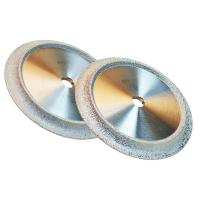 China Vacuum Brazed Industrial Diamond Grinding Wheels Optional Size For Jewelry / Gemstone on sale