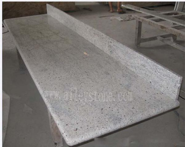 Quality kashmir white granite countertop for sale