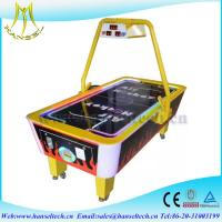 China Hansel hot selling 2017 coin operated mini air hockey game machine in game center wholesale