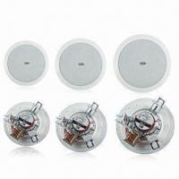 China In-ceiling Speaker with Built-in 70/100V Transformer, Full Range Woofer, All Metal Components wholesale