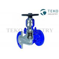 China DIN Bellow Seal Globe Valve Manual Operated For Steam And Thermal Oil wholesale