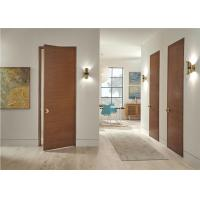 China Paper White Primer Wood Composite Door MDF Timber Unfinished Surface Finishing on sale