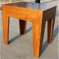 China Wood square tea table wholesale