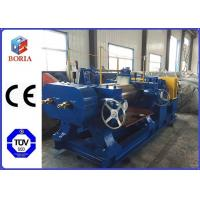 Customized Rubber Mixing Machine , Rubber Compounding Equipment With Hardened Gear Reducer