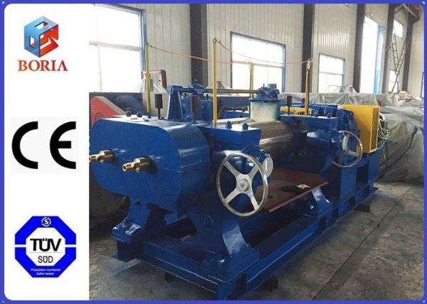 Quality Customized Rubber Mixing Machine , Rubber Compounding Equipment With Hardened Gear Reducer for sale