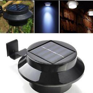 China Solar light gutter light outdoor garden yard wall pathway lamp on sale