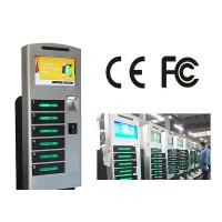 China Free Standing Cell Phone Charging Station With 6 Safe E - Lock Charging Box wholesale
