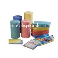 China printing spunlace nonwoven wiper viscose and polyester wholesale