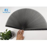 Buy cheap Black Color Polyester Folding Window Screen Use For Window And Doors from wholesalers