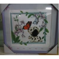 China hand embroidery photo frame matboard CNC cutter wholesale
