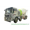 China HOMAN 8x4 12 Cubic Concrete Agitator Truck , Concrete Mixing Transportation Truck wholesale