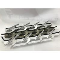 China 6 Inch Length Machining Aluminum Parts / Window Louvers WIth Punching on sale