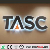 China Advertising backlit stainless steel LED letter sign and 3D sign letters on sale