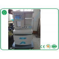 5 Tubes Flow Meter Mobile Anesthesia Machine , Anesthesia Gas Machine Oxygen Probe