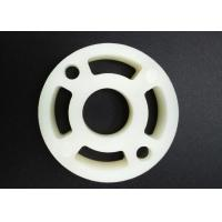China Injection Molded Plastic Washer Bushing 45mm Oyster Double Round Body Design for sale