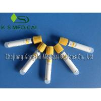Medical Serum Collection Tubes 1ml - 8.5ml SST Tube , Yellow Cap