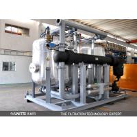 China Back wash control Industrial Filtration System / oil filtration system wholesale