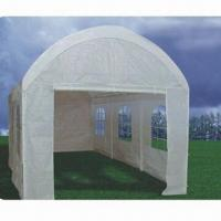 China 3 x 6m Dome Top Carport, Made of PE Fabric wholesale
