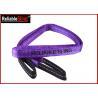 China WLL 4000 kg Polyester Flat Webbing Sling Duplex Eye Eye Webbing Belt wholesale