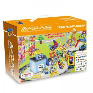 Buy cheap O magplayer popular 258 remenda brinquedos magnéticos da construção do Railcar dos brinquedos do enigma 3d from wholesalers