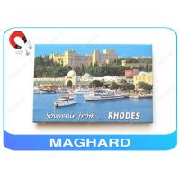 China 7 X 5 Frame Home Picture Magnet For Refrigerator Door as Tourist Souvenirs on sale