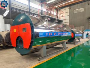 China Industrial Horizontal Oil Or Gas Fired Steam Boiler For Distillilery Equipment wholesale
