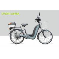25Km - 32Km / H Pedal Assisted Bicycle Electric Bike 24 Inch Wheel 350W Brushless Motor
