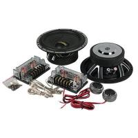 China 20KHZ Component Car Speakers 4 Ohm , 75W Two Way Car Speaker Woofer wholesale