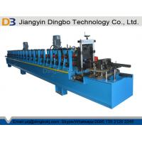 China Perforated Metal Uni Strut Channel Roll Forming Machine for CU Solar Mounting Frame wholesale